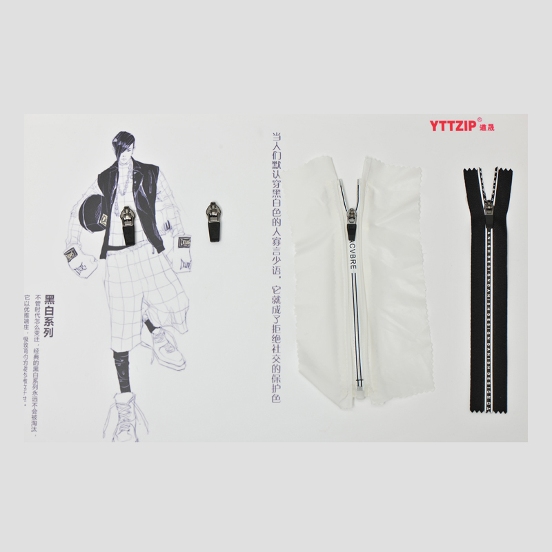 YTT Nylon Waterproof #3 with Special Printing